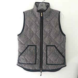 [J. Crew Factory] Houndstooth Vest